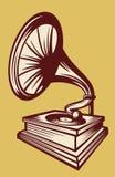 Phonographe Photographie stock libre de droits