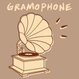 Phonographe Photo stock