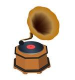 Phonographe illustration stock