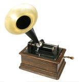 Phonographe de cru Photographie stock libre de droits