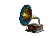 Phonographe de cru Image libre de droits