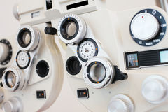Phoropter stock foto's