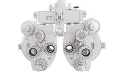 Phoropter optisch apparaat royalty-vrije stock afbeelding