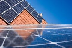 Photovoltaic plant Stock Image