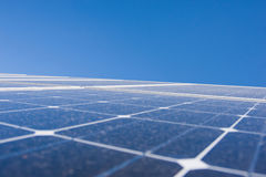 Photovoltaic plant Stock Images