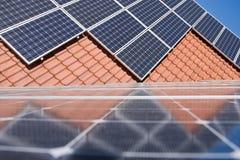 Phorovoltaic plant Stock Image