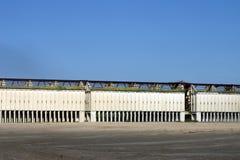 Phosphatgrubengebäude Stockfotografie