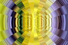 Phosphorescent beżowych kolor żółty menchii kurendy fiołkowe linie Radosna tekstura i wzór Fotografia Stock
