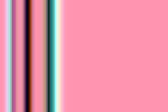 Phosphorescent green dark lines on pink background Royalty Free Stock Photo
