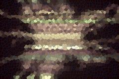 Phosphorescent kwadratów czarne niebieskie linie Radosna tekstura i wzór Fotografia Royalty Free