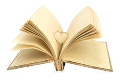 Photebook и сердце Стоковое Фото