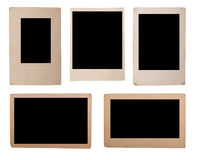 Photo. Blank grunge photo frame for any image Royalty Free Stock Image