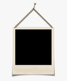 Photo. Hanging on a chain isolated on a white background Stock Images