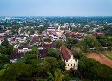 Photo aérienne de Kochi dans l'Inde images libres de droits