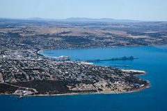 Photo aérienne de port Lincoln Australie du sud Image libre de droits
