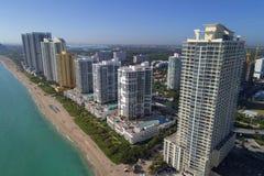 Photo aérienne Sunny Isles Beach FL Images stock