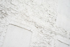 Photo of abstract vintage empty background.Old white painted brick wall texture. White washed brickwall surface Stock Photos
