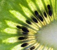 Photo abstraite d'un kiwi Photo libre de droits