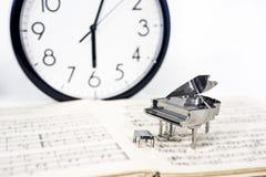Photo abstraite de la musique Musique de jazz de piano Images libres de droits