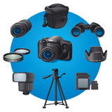 Photo accessories Stock Images