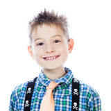 Photo of adorable young happy boy Stock Image