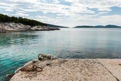 Adriatic Sea, Losinj Island, Croatia. Photo of Adriatic Sea, Losinj Island, Croatia Royalty Free Stock Photos