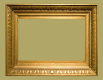 Photo of aged picture frame Stock Image