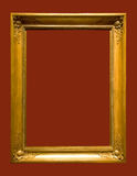 Photo of aged picture frame Royalty Free Stock Photos