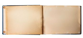 Photo Album. Old Empty Family Photo Album royalty free stock photography