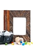 Photo Album And Camera Royalty Free Stock Image