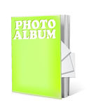 Photo album book isolated Stock Photos