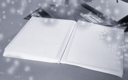 Photo Album with copy space Royalty Free Stock Image