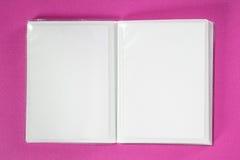 Photo Album with copy space Stock Image