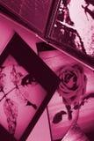 Photo Album with copy space Stock Photo