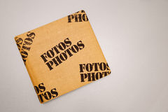 Photo Album Cover Royalty Free Stock Photo