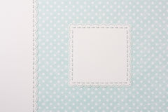 Photo album cover in shabby chic style Royalty Free Stock Photography