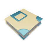 Photo album. On white background. 3d illustration Stock Photo