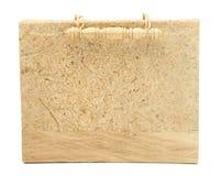Photo Album with Wooden Handle Stock Photo