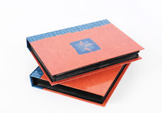 Photo albums royalty free stock photography