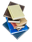 Photo albums. Stack of photo albums isolated on white. With clipping path Royalty Free Stock Photography
