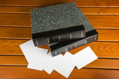 Photo albums Royalty Free Stock Photo