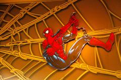 Photo of the Amazing Adventure of Spider Man Stock Photography