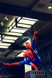 Photo of the Amazing Adventure of Spider Man Royalty Free Stock Image
