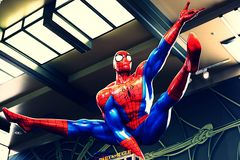 Photo of the Amazing Adventure of Spider Man Royalty Free Stock Images