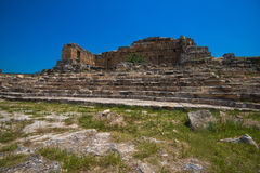 Photo of ancient city Hierapolis Royalty Free Stock Images