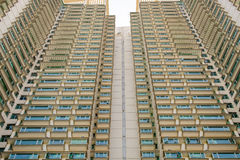 Photo angles residential buildings in Hong Kong can be found eve Royalty Free Stock Image