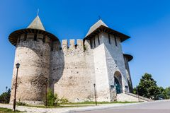 Soroca fortress image. Photo of the architectural monument, fortress Soroca, Moldova royalty free stock image