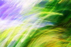 Photo art, Colorful light streaks abstract background Stock Photo