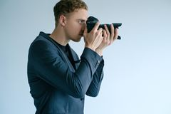 Photo art creative photographer lifestyle concept Royalty Free Stock Photography
