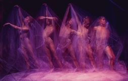 Photo as art - a sensual and emotional dance of Stock Photos